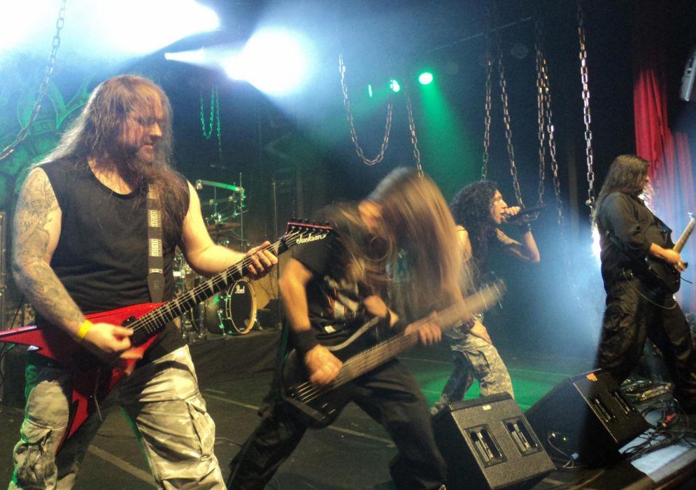 KORZUS thrash metal heavy concert guitar     d wallpaper