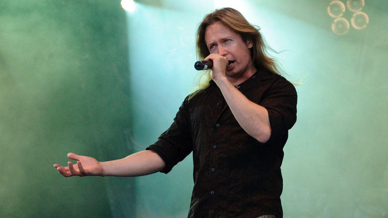 KOTIPELTO heavy metal concert microphone     d wallpaper