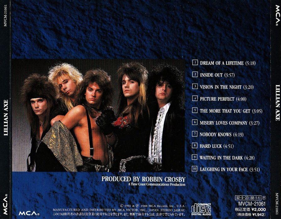 LILLIAN AXE heavy metal poster      f wallpaper