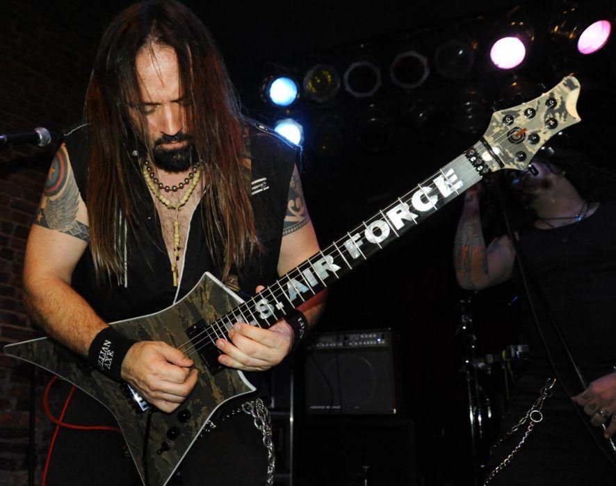 LILLIAN AXE heavy metal concert guitar     f wallpaper