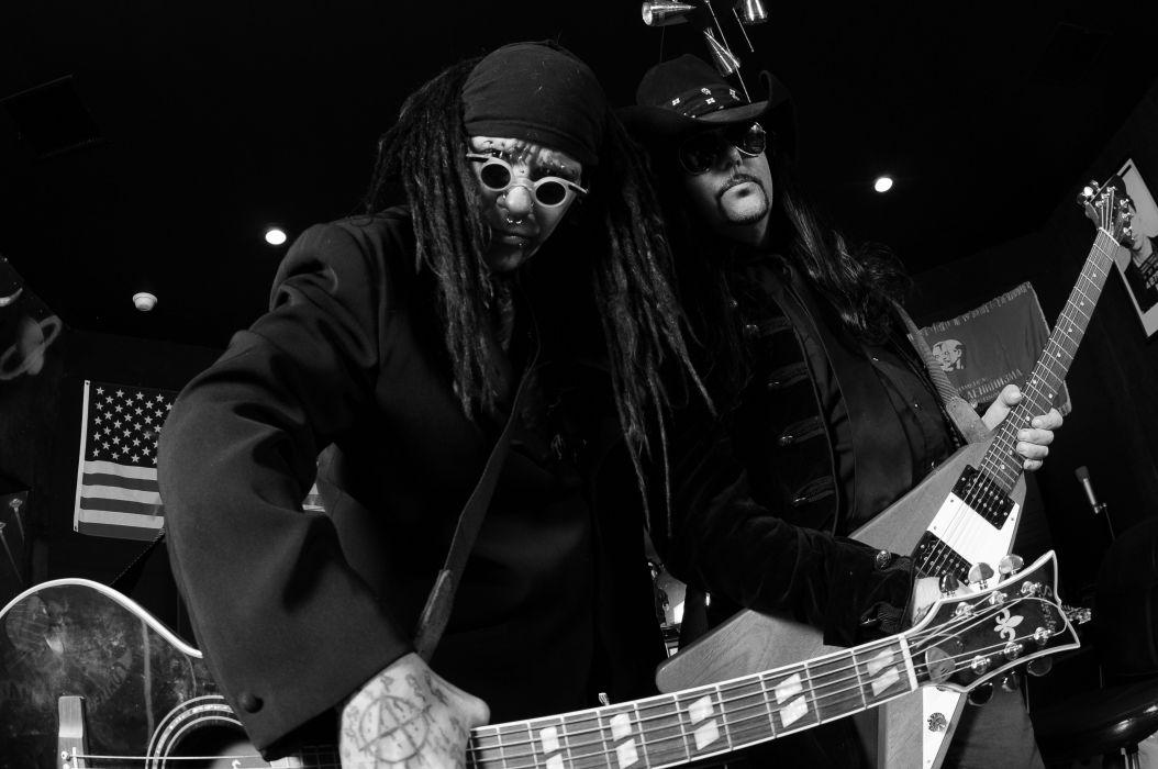 MINISTRY industrial metal heavy concert guitar     f wallpaper