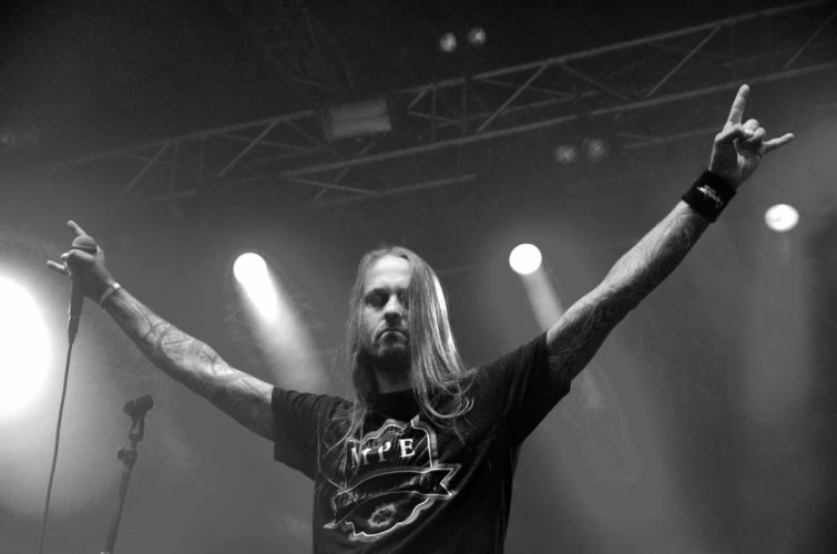 MORS PRINCIPIUM EST death metal heavy concert singer microphone b wallpaper