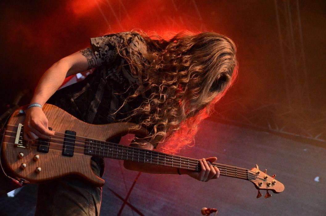 MORS PRINCIPIUM EST death metal heavy concert guitar    fd wallpaper