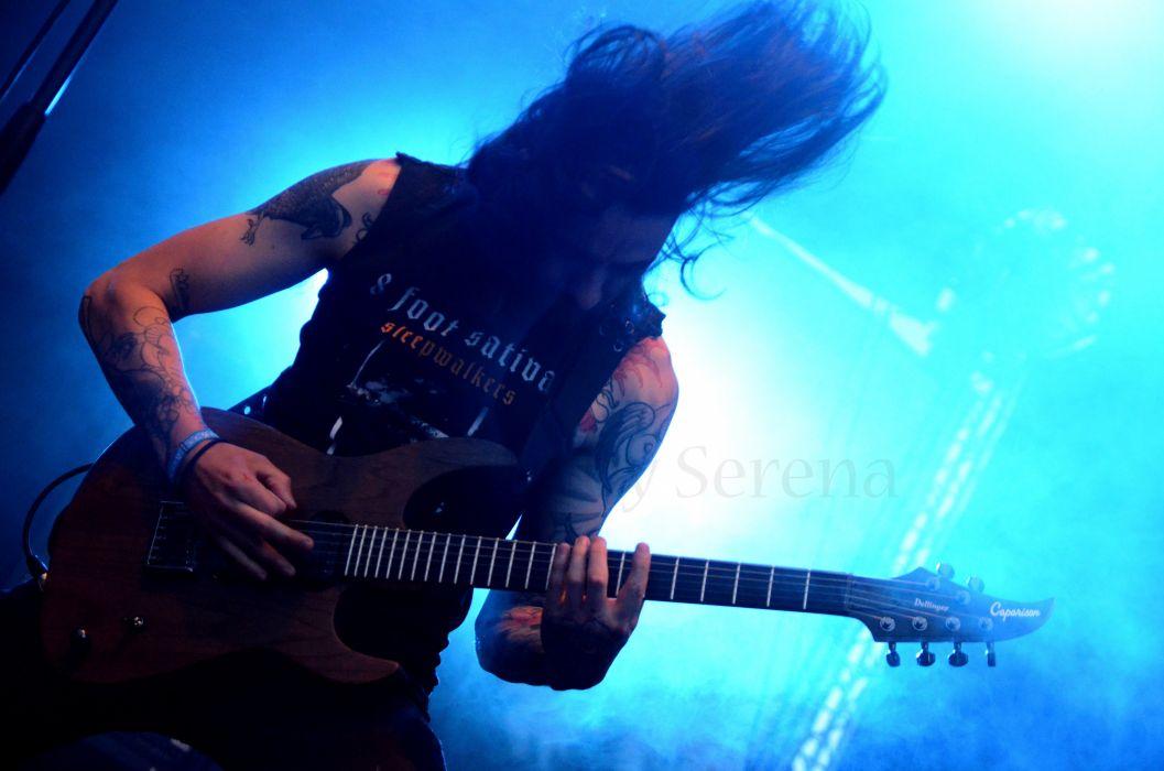 MORS PRINCIPIUM EST death metal heavy concert guitar   k wallpaper