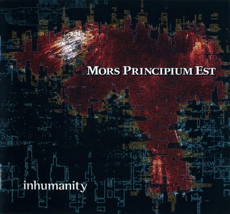 MORS PRINCIPIUM EST death metal heavy poster       gd wallpaper