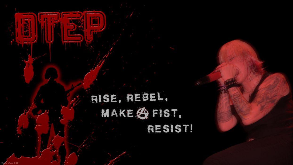 OTEP nu-metal heavy metal anarchy dark poster      f wallpaper