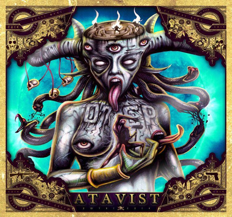 OTEP nu-metal heavy metal dark occult demon fantasy   fd wallpaper
