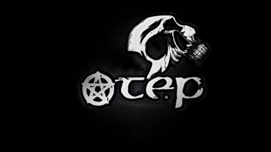 OTEP nu-metal heavy metal poster occult skull fd wallpaper