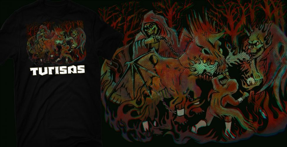 TURISAS folk metal heavy poster reaper dark evil skull f wallpaper