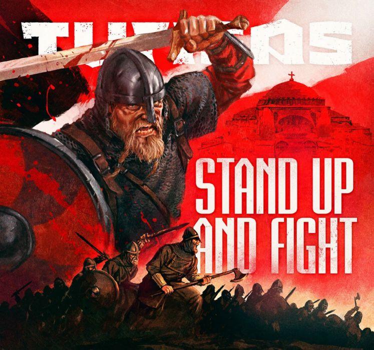 TURISAS folk metal heavy poster warrior   gv wallpaper