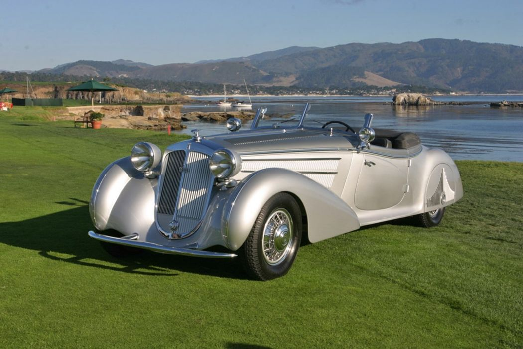 classic car horch wallpaper