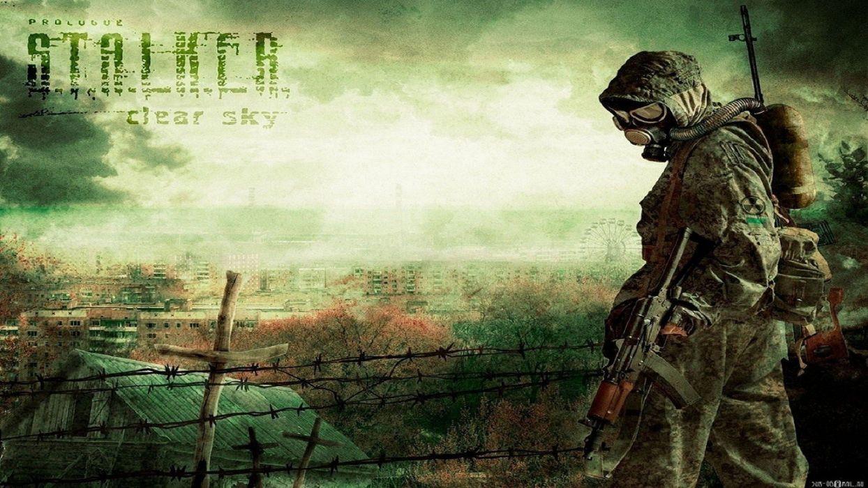 video games S_T_A_L_K_E_R_ artwork wallpaper
