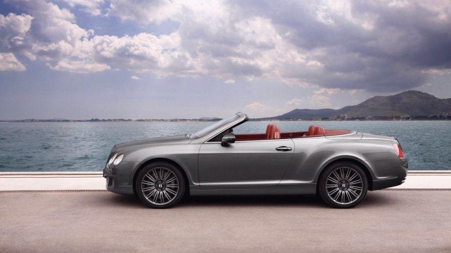 cars Bentley convertible wallpaper
