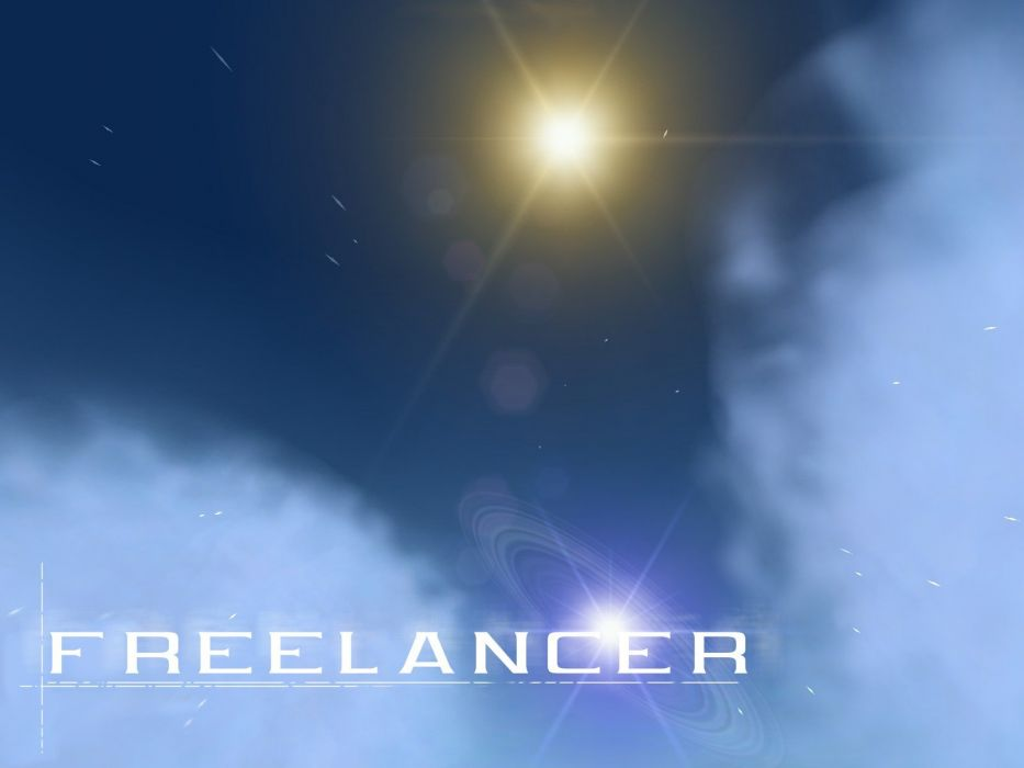 outer space Freelancer wallpaper
