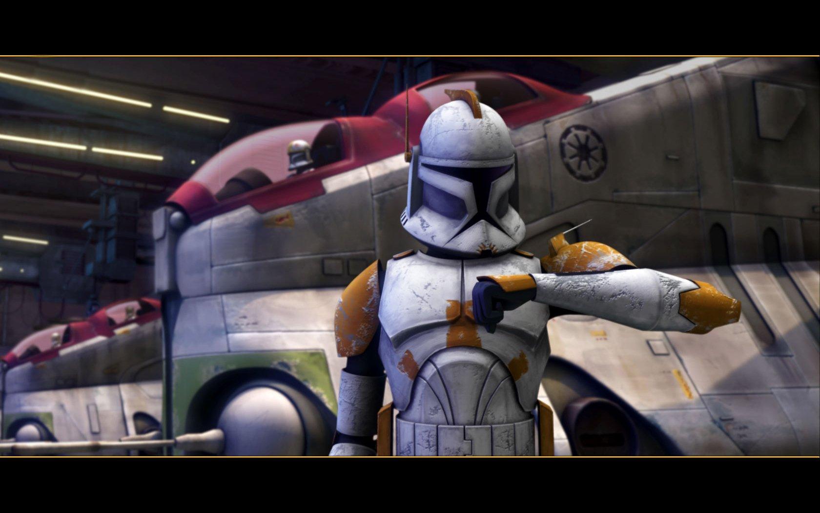 Star Wars Clone Wars Clone Trooper Commander Cody Wallpaper