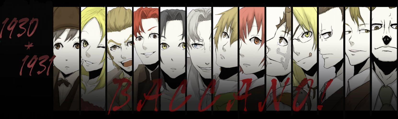 Baccano! anime wallpaper