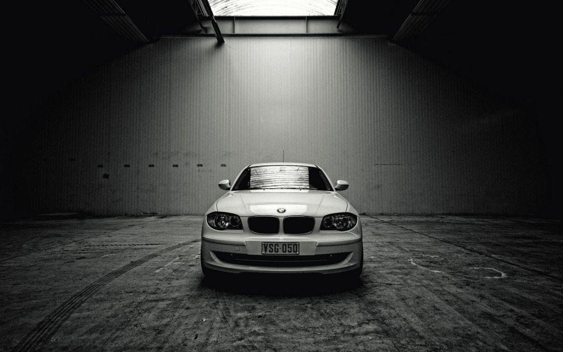 BMW white white cars wallpaper