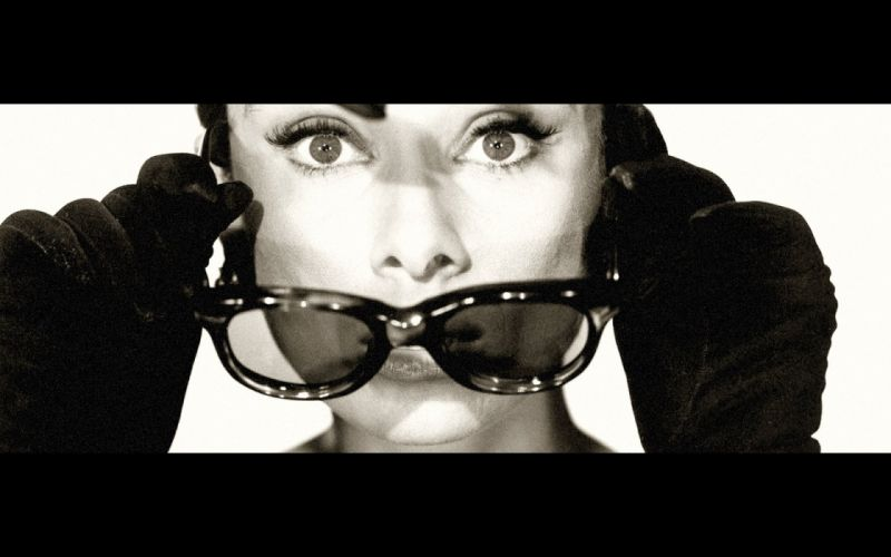 Audrey Hepburn sunglasses wallpaper