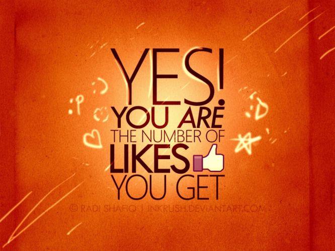 Facebook social network wallpaper