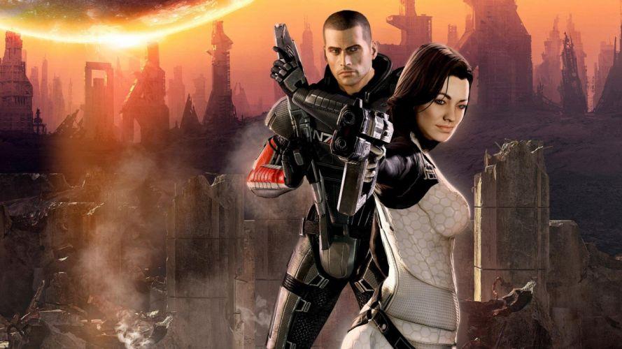 video games Mass Effect wallpaper