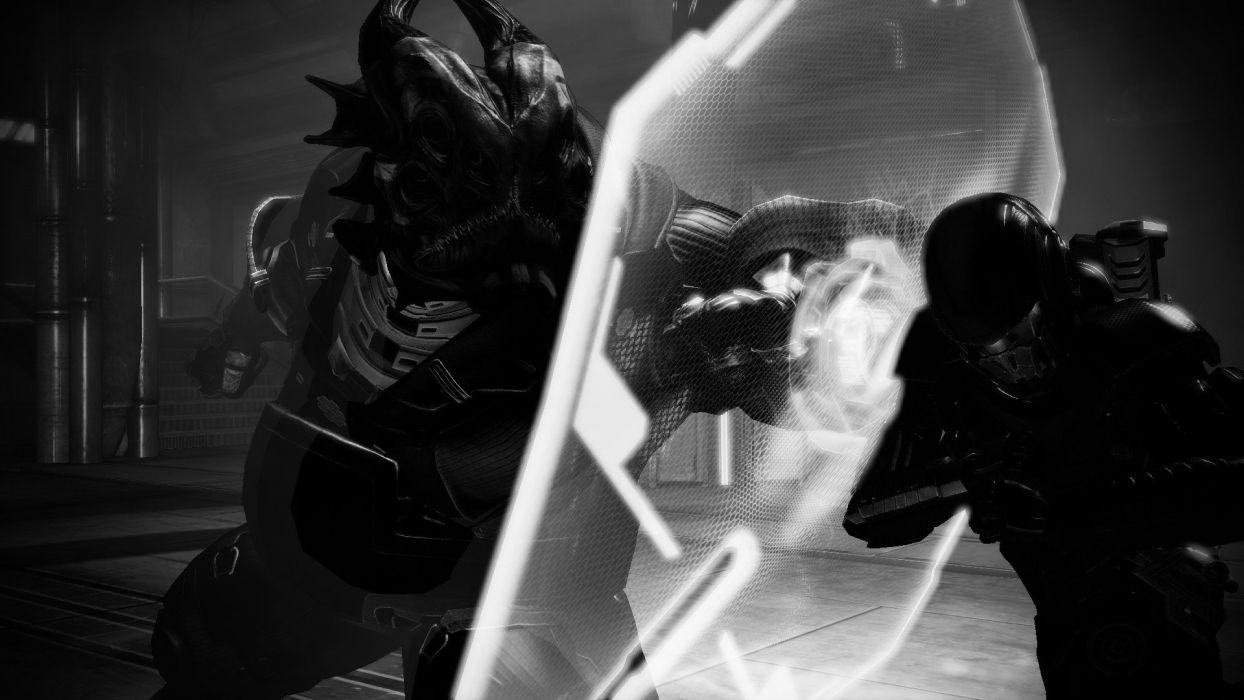 Mass Effect Mass Effect 2 Commander Shepard Shadow Broker wallpaper
