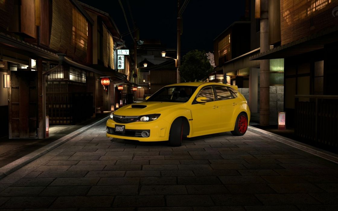 video games cars Gran Turismo 5 Subaru Impreza WRX STI wallpaper
