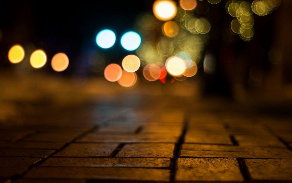 light roads wallpaper