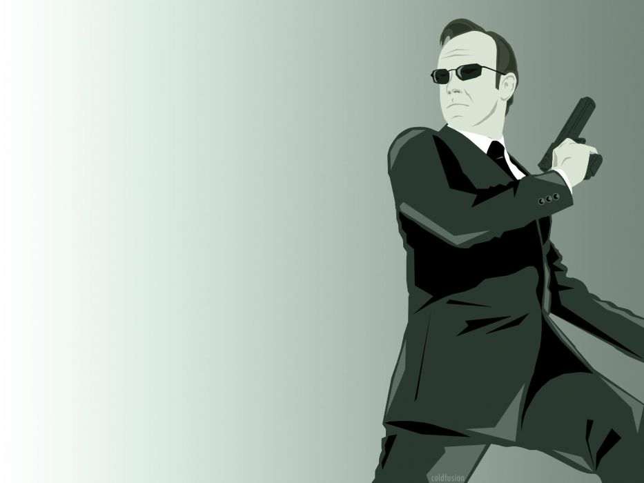 vectors Matrix Agent Smith wallpaper