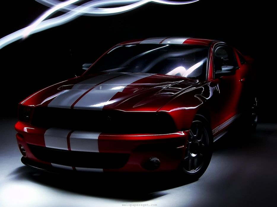 American muscle cars front coupe Ford Shelby famous Shelby GT500 wallpaper