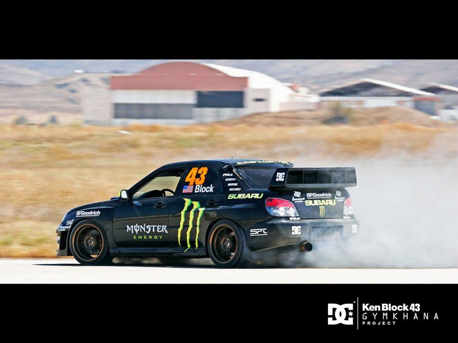 Lovely Monsters Cars Sports Vehicles Monster Energy Subaru Impreza WRX Wallpaper
