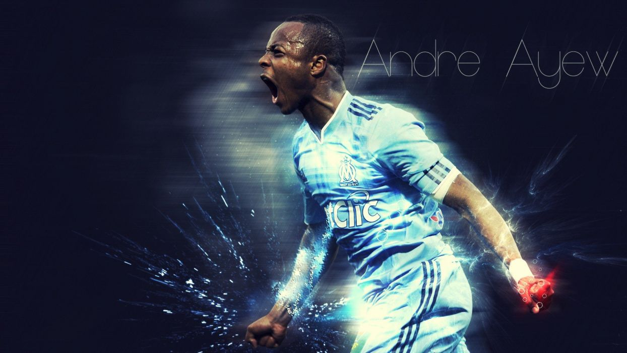 sports soccer andre ayew wallpaper