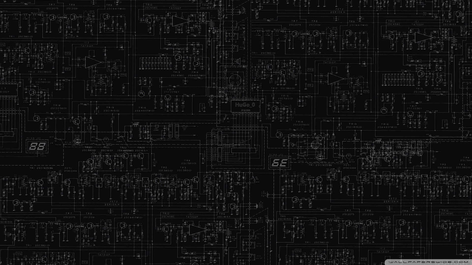circuits wallpaper 1920x1080 300406 wallpaperupMotherboards Circuits 3d Circuit Board 1920x1080 Wallpaper Download #18