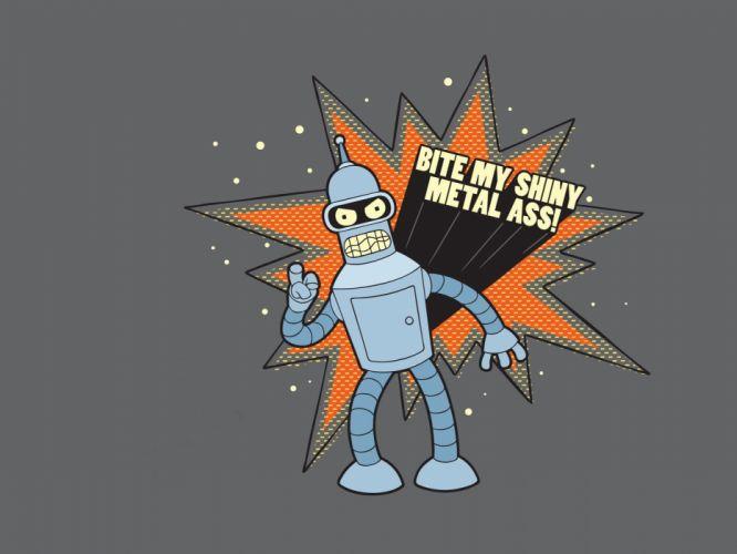 Futurama Bender wallpaper