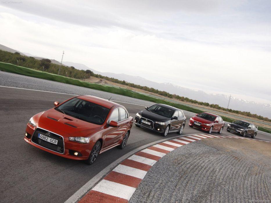 cars Mitsubishi Lancer Evolution X wallpaper