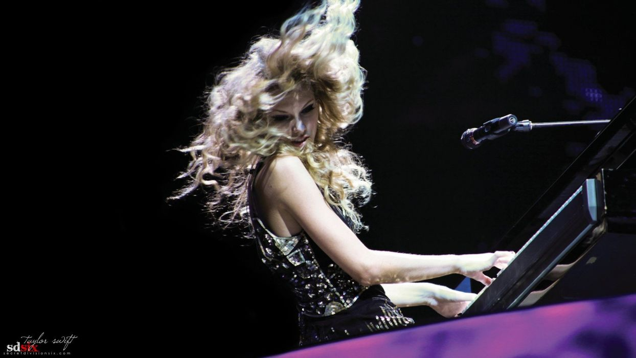 blondes women music Taylor Swift celebrity singers wallpaper
