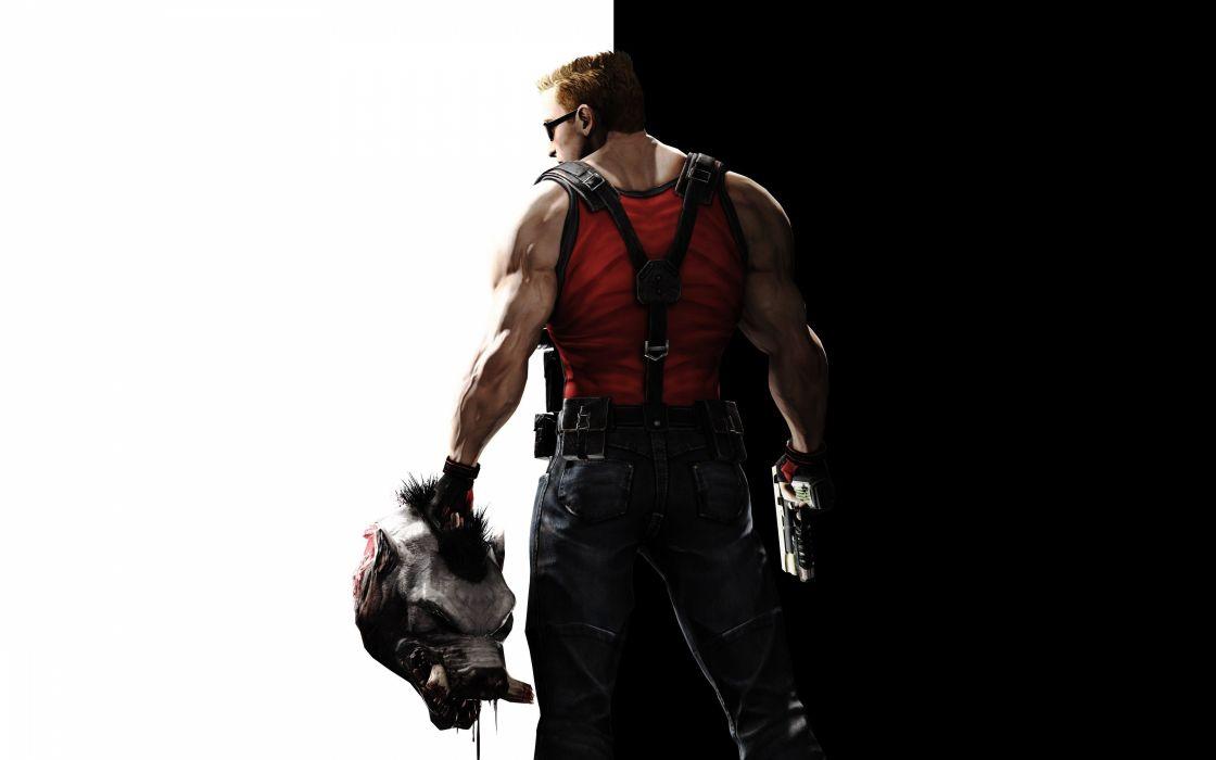 video games Duke Nukem Duke Nukem Forever wallpaper