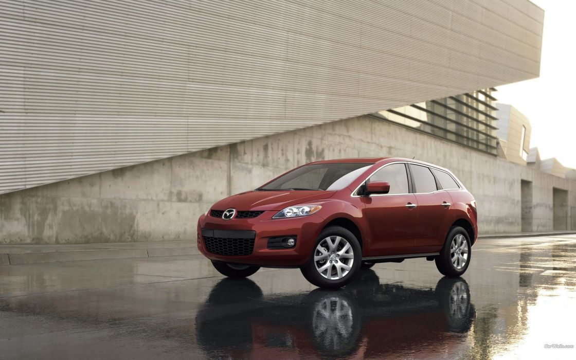 cars Mazda red cars Mazda CX-7 wallpaper