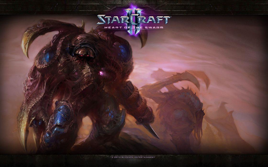 video games StarCraft science fiction Starcraft II: Heart of the Swarm StarCraft II wallpaper