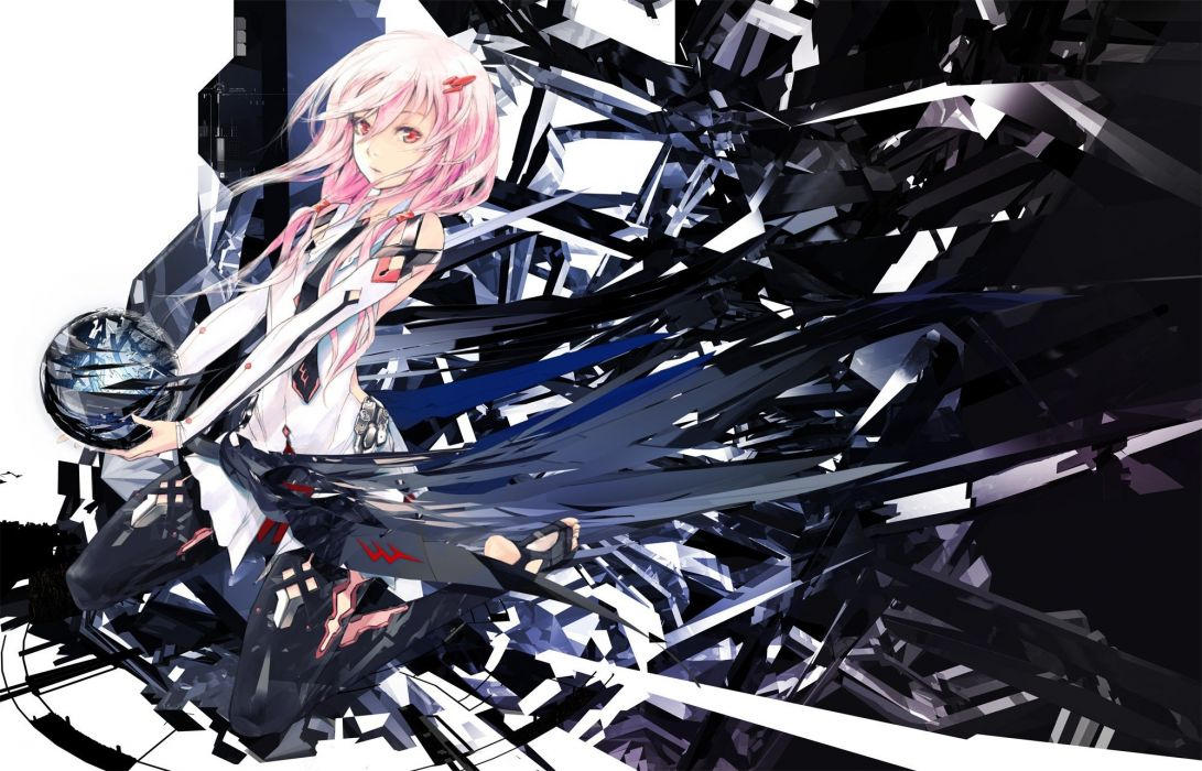 Redjuice Guilty Crown Yuzuriha Inori wallpaper