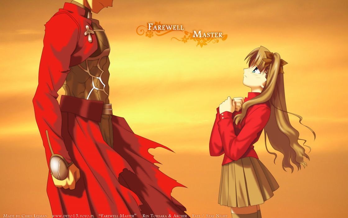 Fate/Stay Night Tohsaka Rin Archer (Fate/Stay Night) Fate series wallpaper