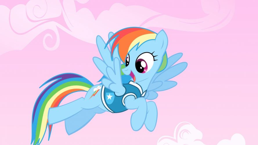 My Little Pony Rainbow Dash wallpaper