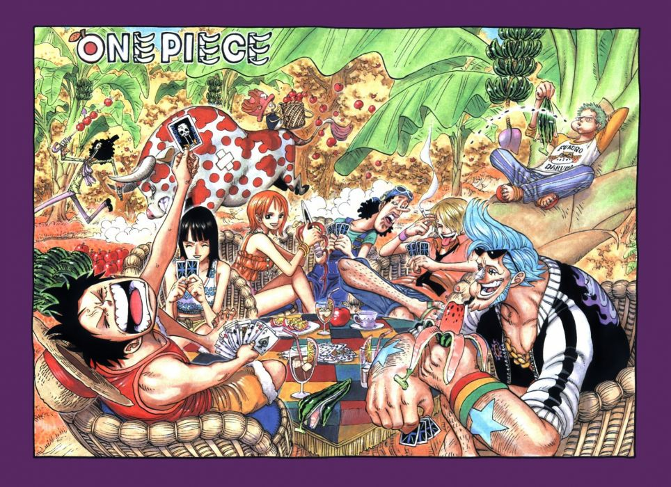 One Piece (anime) manga wallpaper