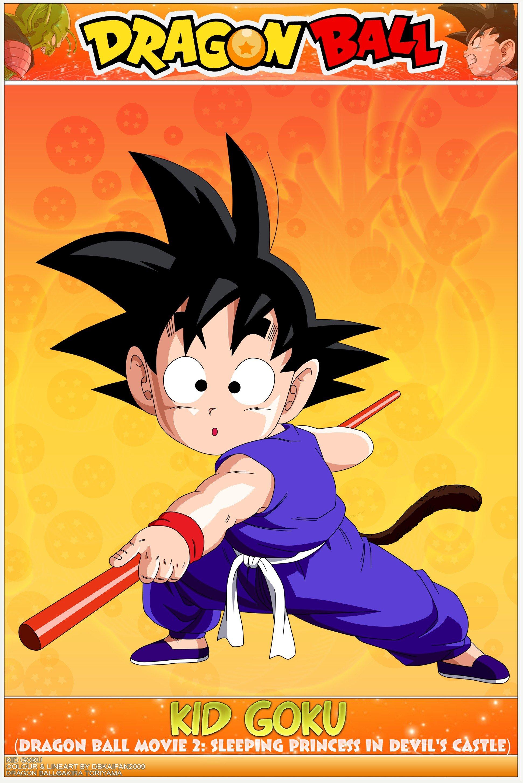 Dragon Ball Kid Goku Wallpaper 1942x2906 300528 Wallpaperup