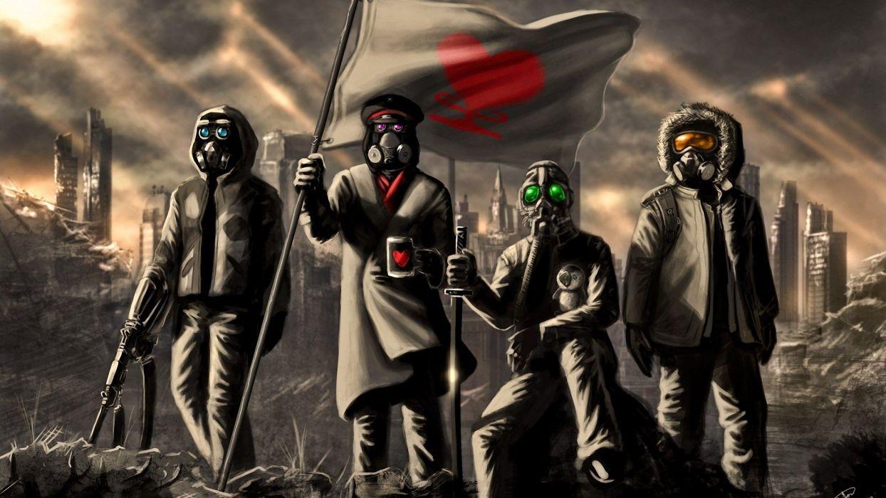 Romantically Apocalyptic Vitaly S Alexius wallpaper