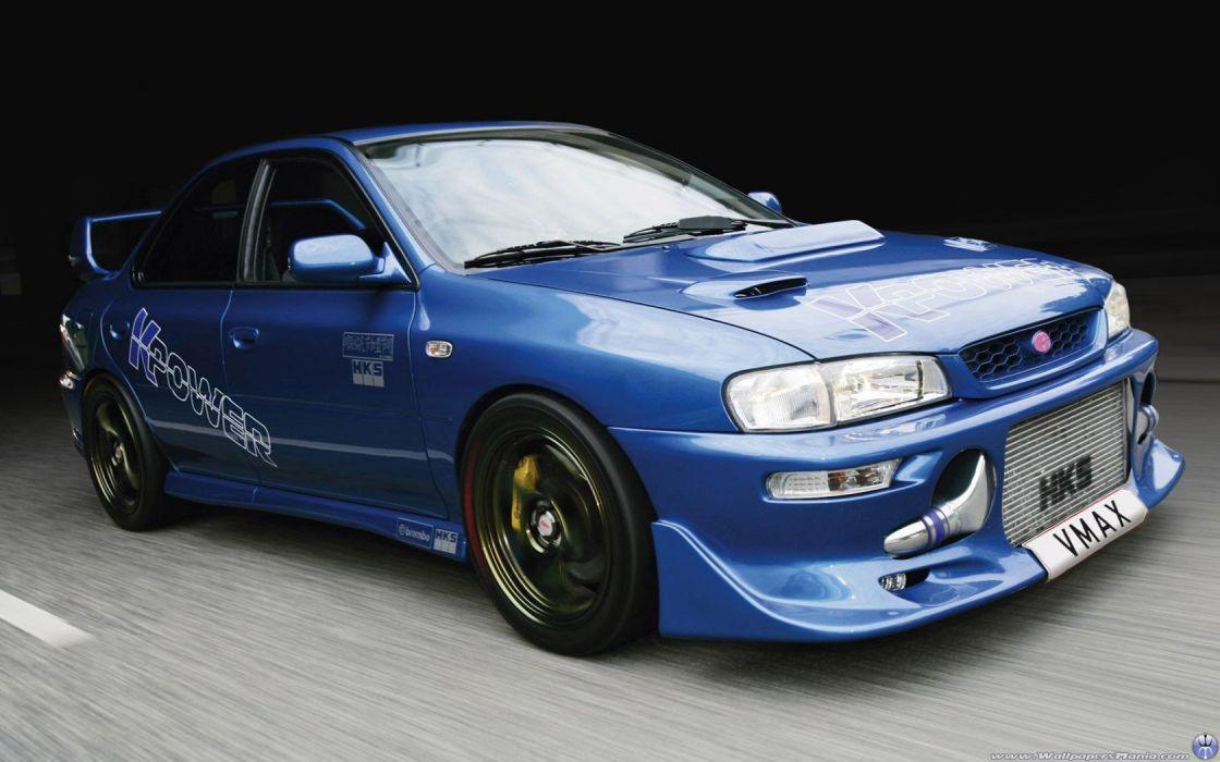 tuning Subaru Impreza wallpaper