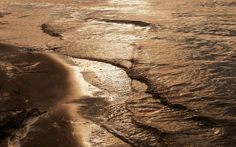 water sea beaches wallpaper