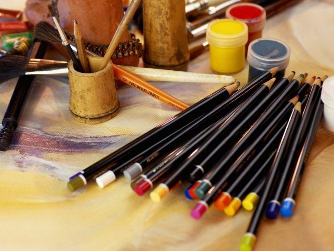 artwork drawings pencils wallpaper