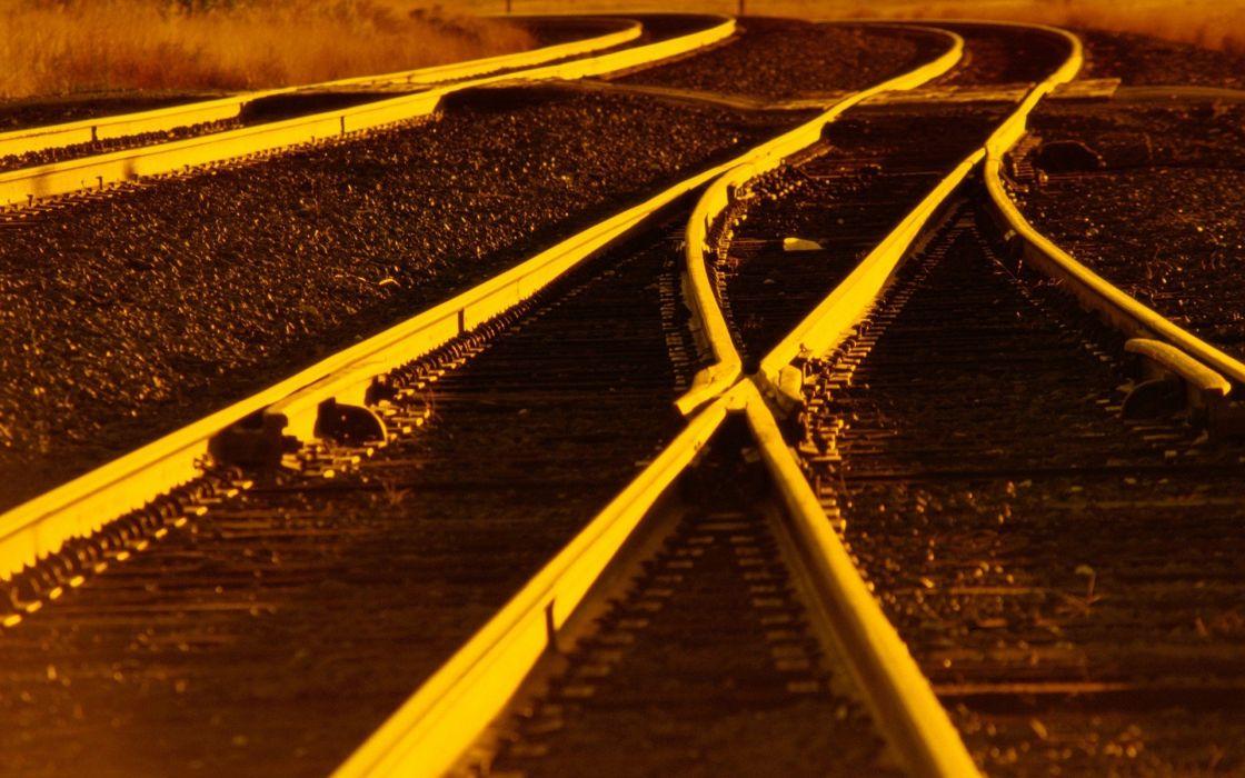 railroad tracks railroads wallpaper
