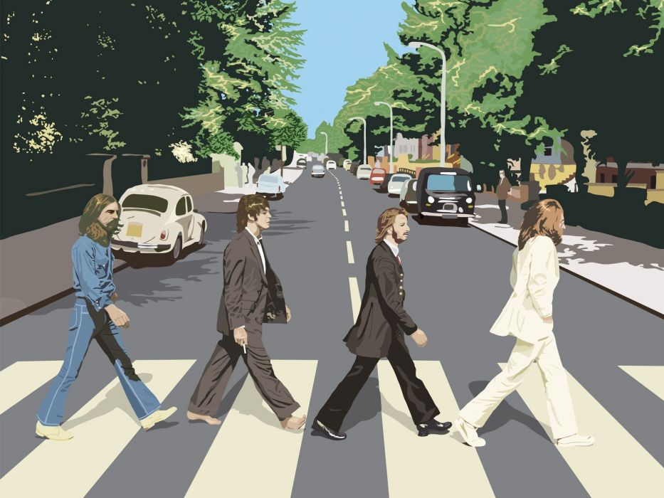 Abbey Road The Beatles wallpaper