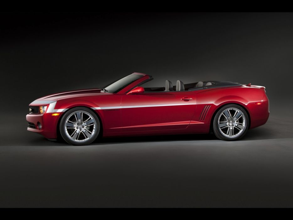red concept art Chevrolet Camaro Zone wallpaper